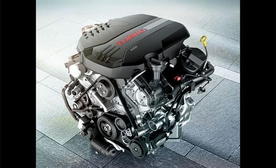3.3L Twin Turbo V6 Lambda II engine