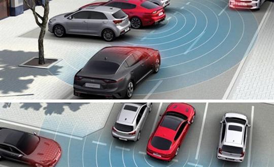 Rear Cross Traffic Collision Avoidance Assist*