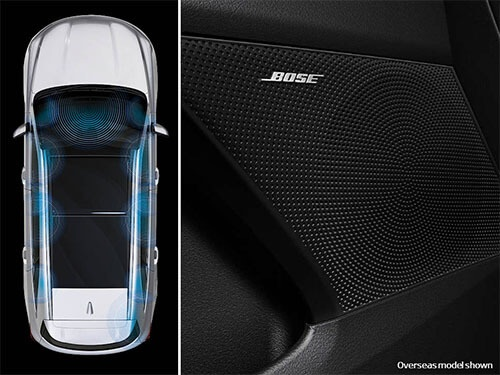 Premium Bose<sup>®</sup> Sound System