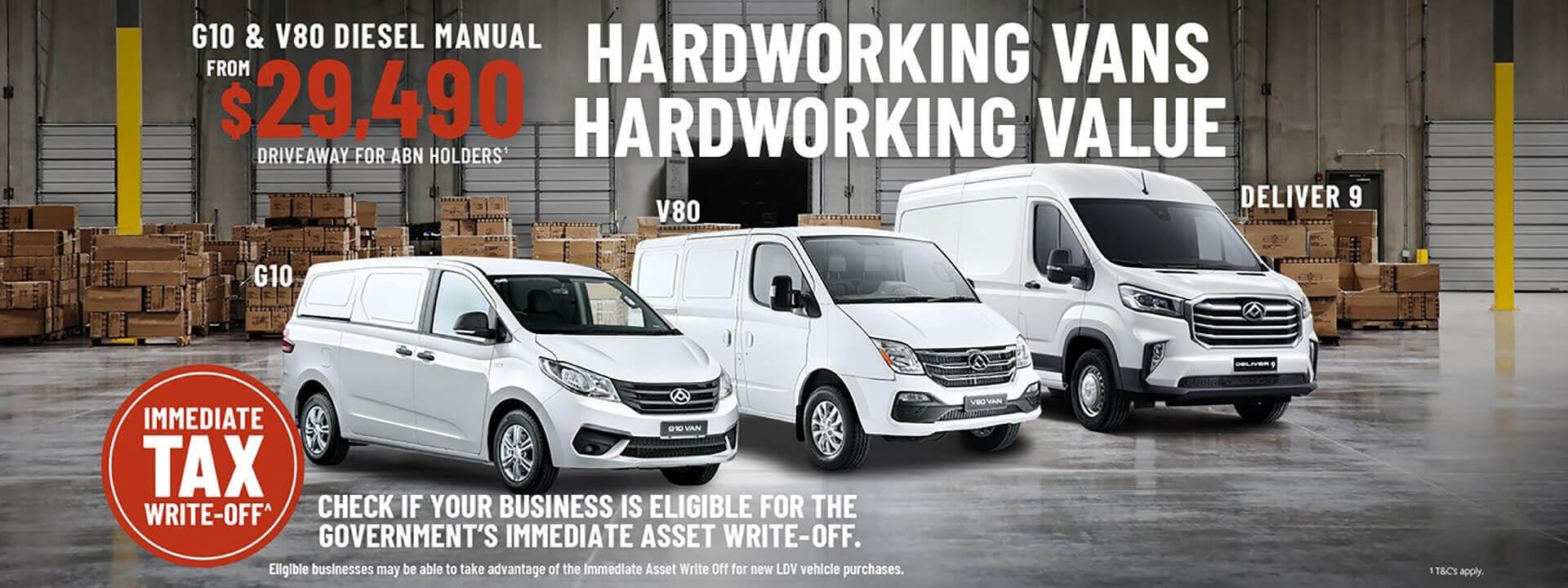 Hardworking Vans Hardworking Value