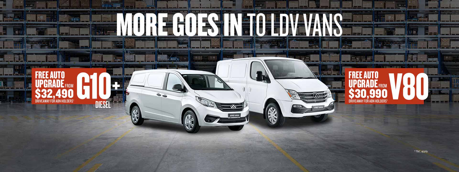 More Goes In To LDV Vans