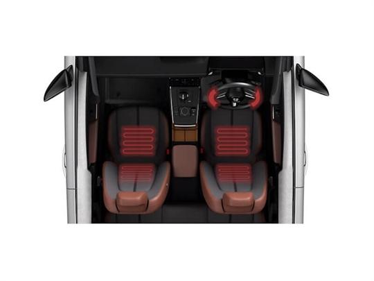 Heated Seats and Steering Wheel
