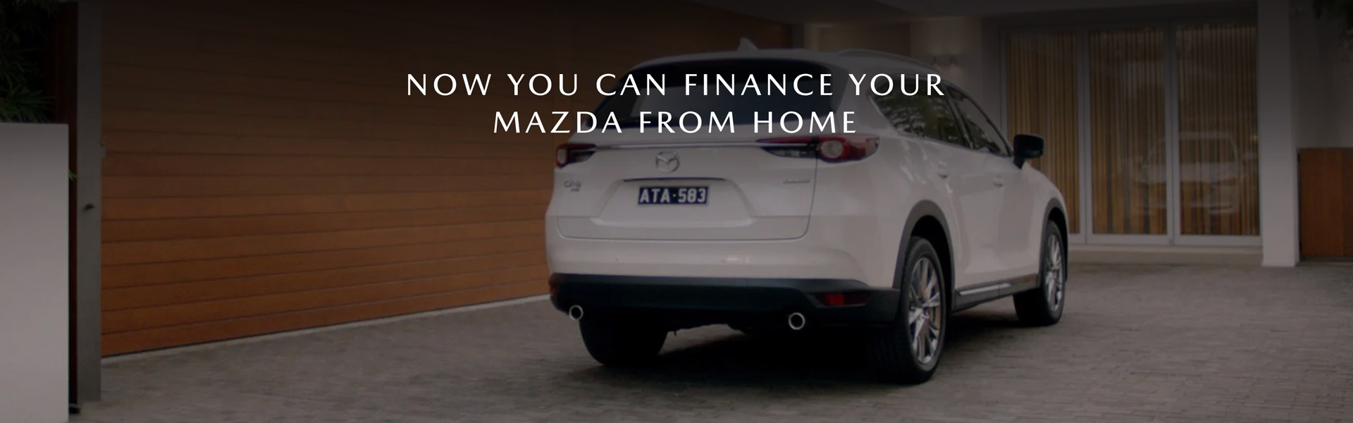 Finance Your Mazda from Home