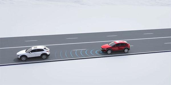 Mazda Radar Cruise Control (MRCC) with Stop & Go