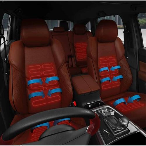 Heated & Ventilated Seats and Heated Steering Wheel