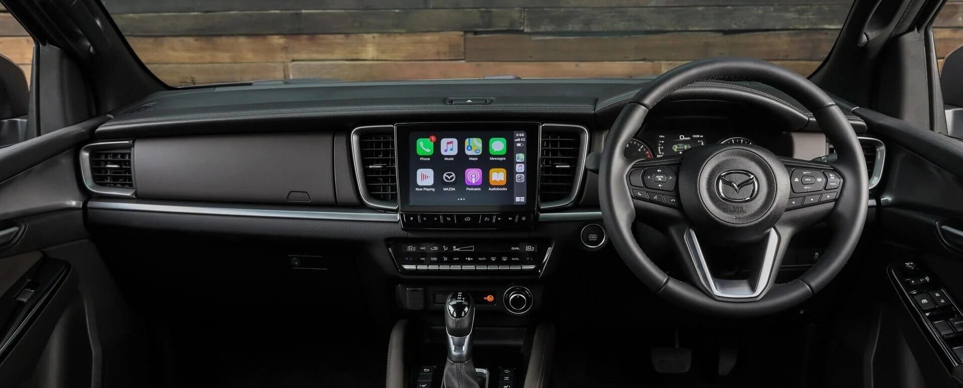 Mazda BT-50 Interior
