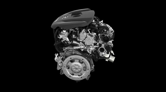Skyactiv-G 2.5T Turbo Engine