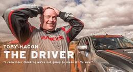 the driver, Toby Hagon