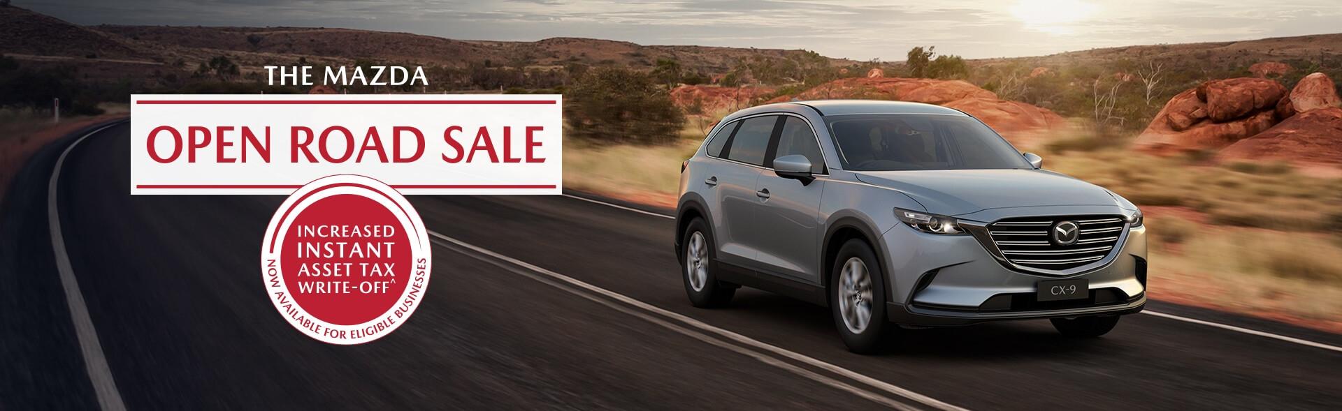The Mazda Open Road Sale