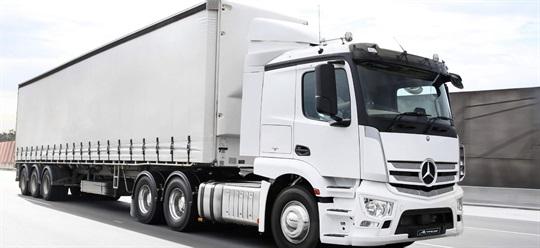 Mercedes-Benz Truck Actros Grades