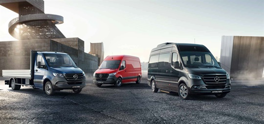 For You: The new Sprinter.