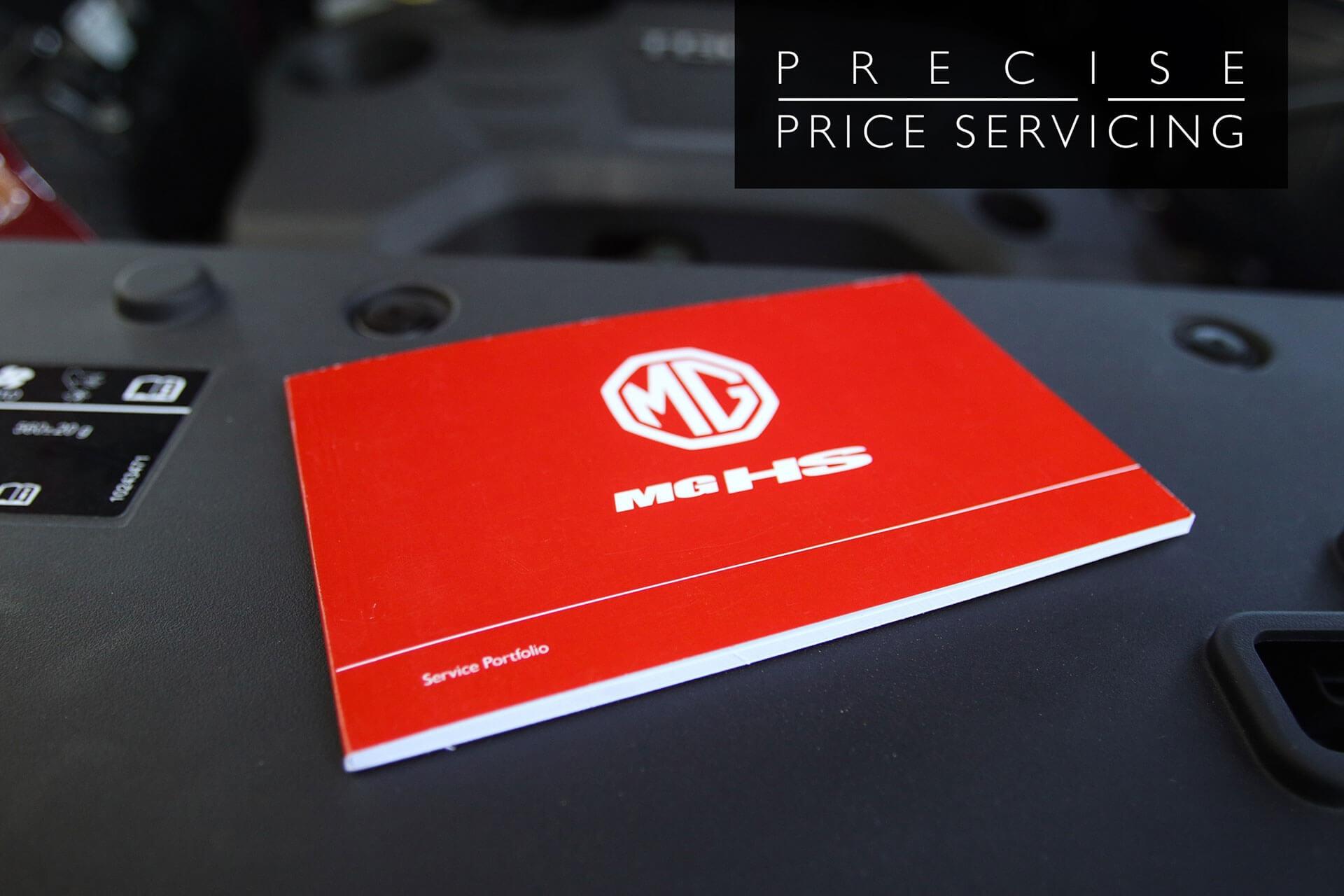 MG Motors Precise Price Servicing