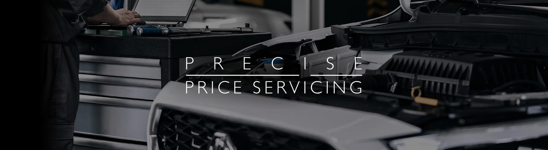 MG Precise Price Servicing