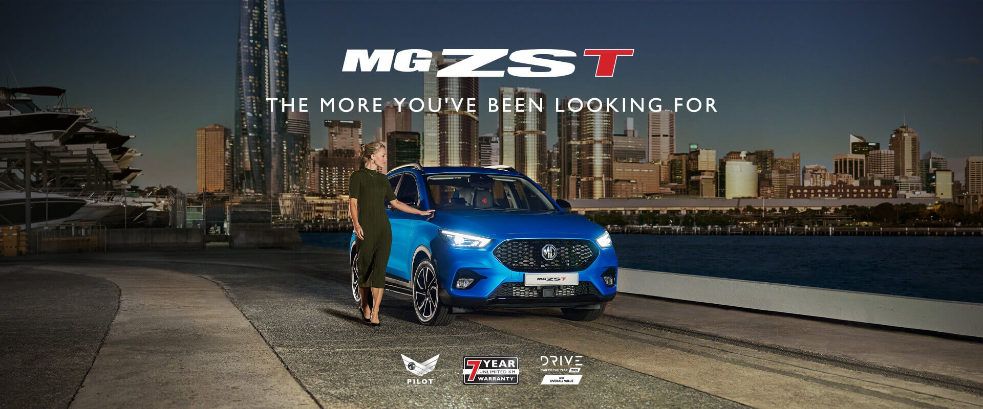 MG ZST - The More You've Been Looking For