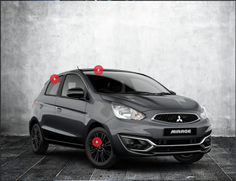 Mirage Hatch Black Edition