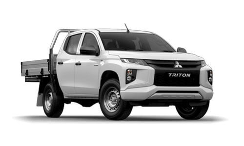 20MY Triton GLX-R 4WD Double Cab - Pick Up Diesel Auto