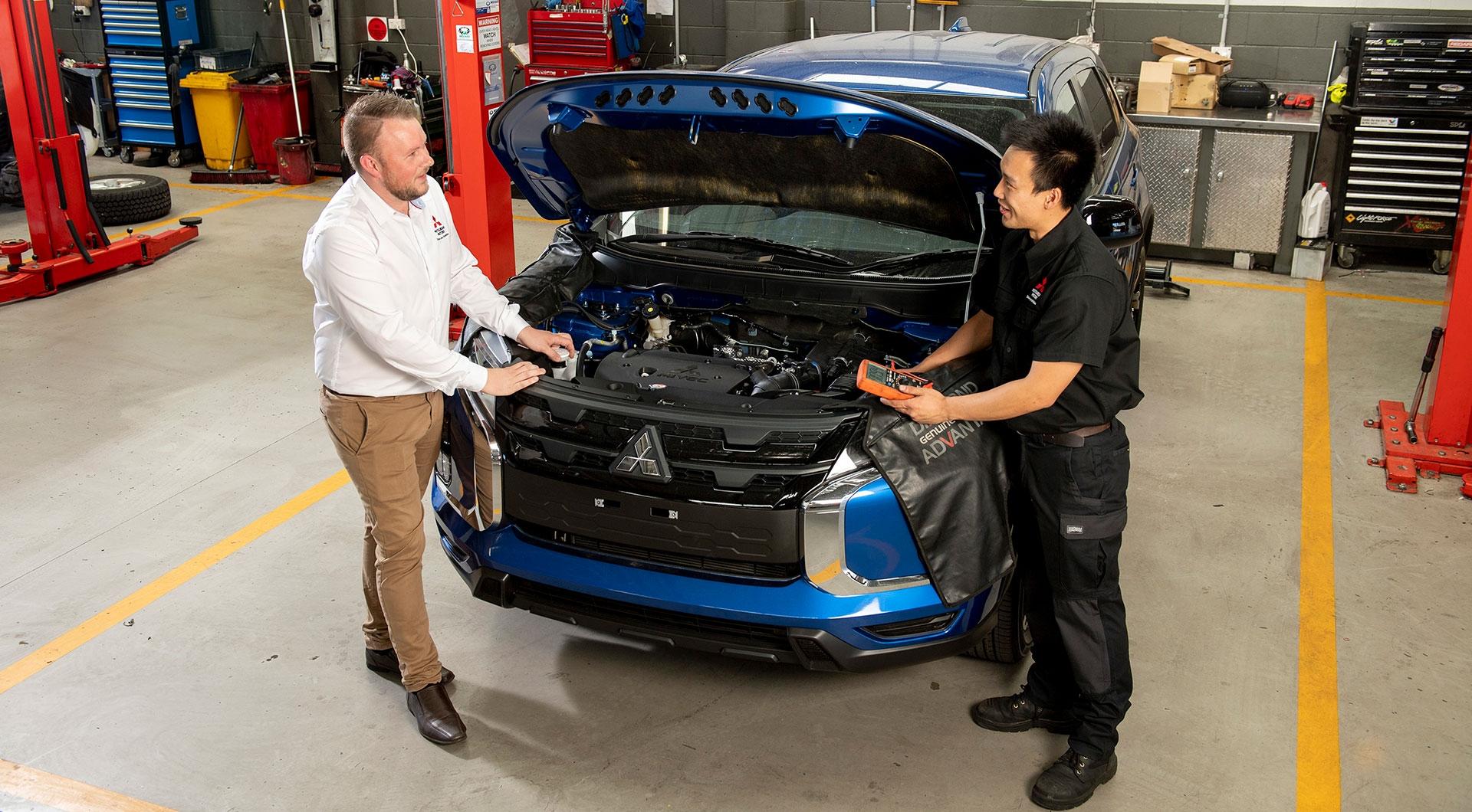 Q&A with Mitsubishi Master Technician