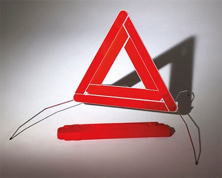 Safety warning triangle