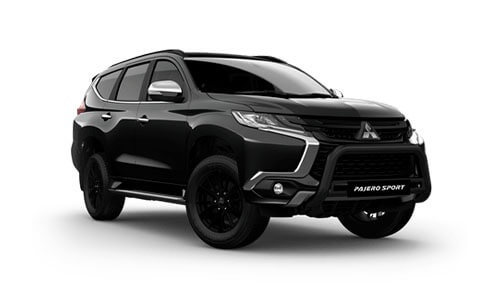 19MY Pajero Sport Black Edition - 7 Seats 4WD Diesel Auto