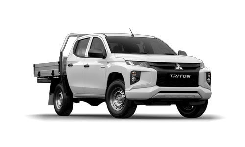 20MY Triton GLX ADAS 4WD Double Cab - Cab Chassis Diesel Auto