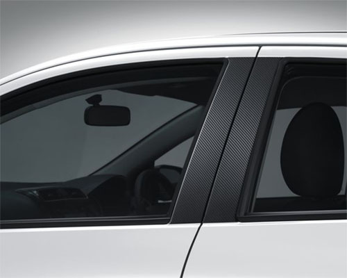 Ralliart fuel lid decal