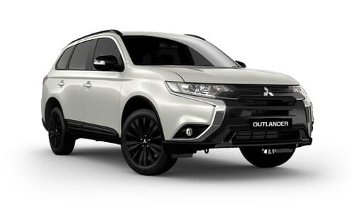 20MY Outlander Black Edition AWD - 7 Seats Petrol CVT Auto
