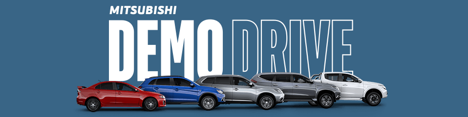 Demo Drive Offers At Paceway Mitsubishi