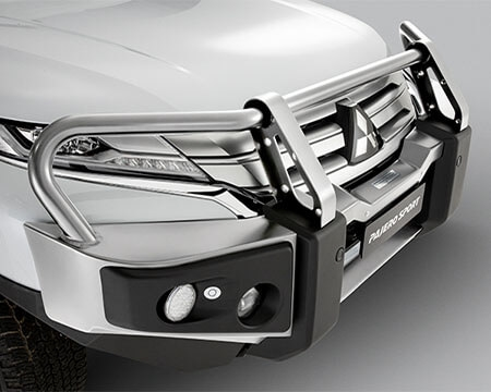 Alloy front protection bar - Polished
