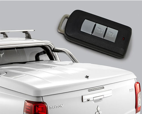 Hard Tonneau Cover - 1 Piece (EGR)
