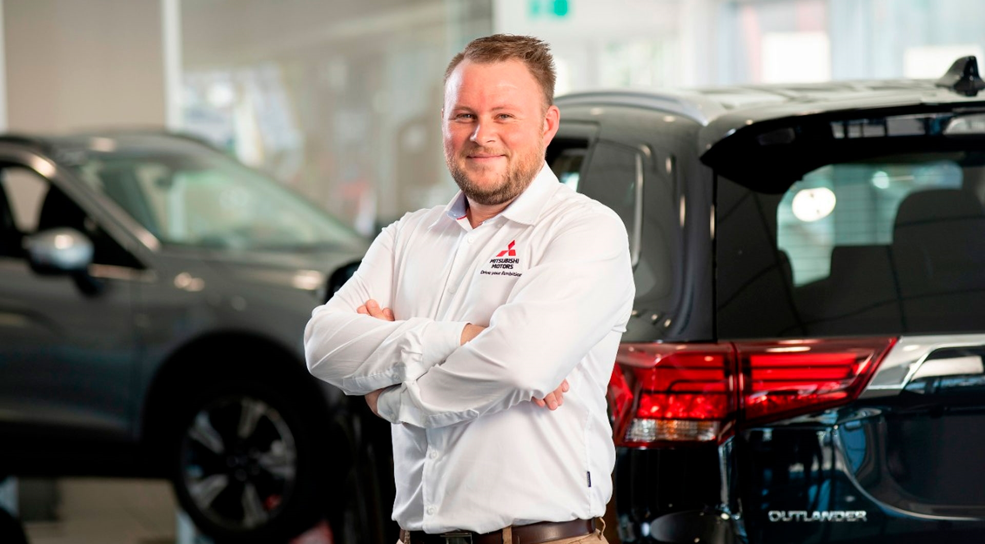 Service Manager and Master Mitsubishi Technician Dylan