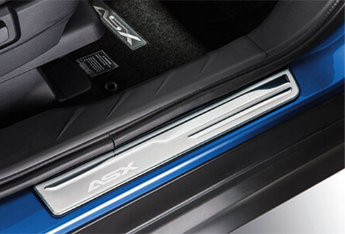 Rubber mat set - front and rear A/T