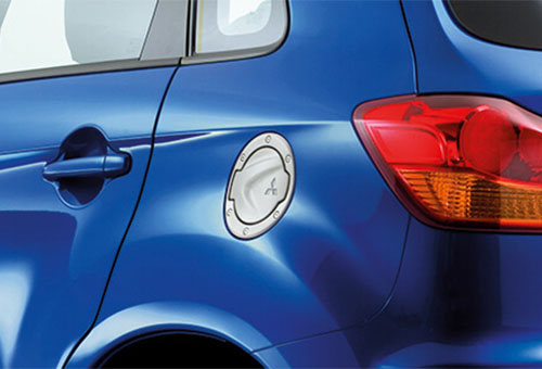 Door mirror covers - chrome