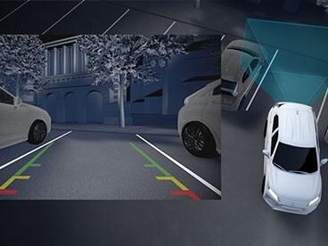 Reverse Parking Camera and Parking Sensors