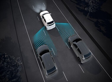 Blind Sport Warning (BSW) and Lane Change Assist (LCA)K8