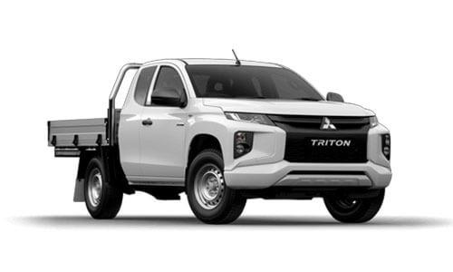 20MY Triton GLX ADAS 4WD Club Cab - Cab Chassis Diesel Auto