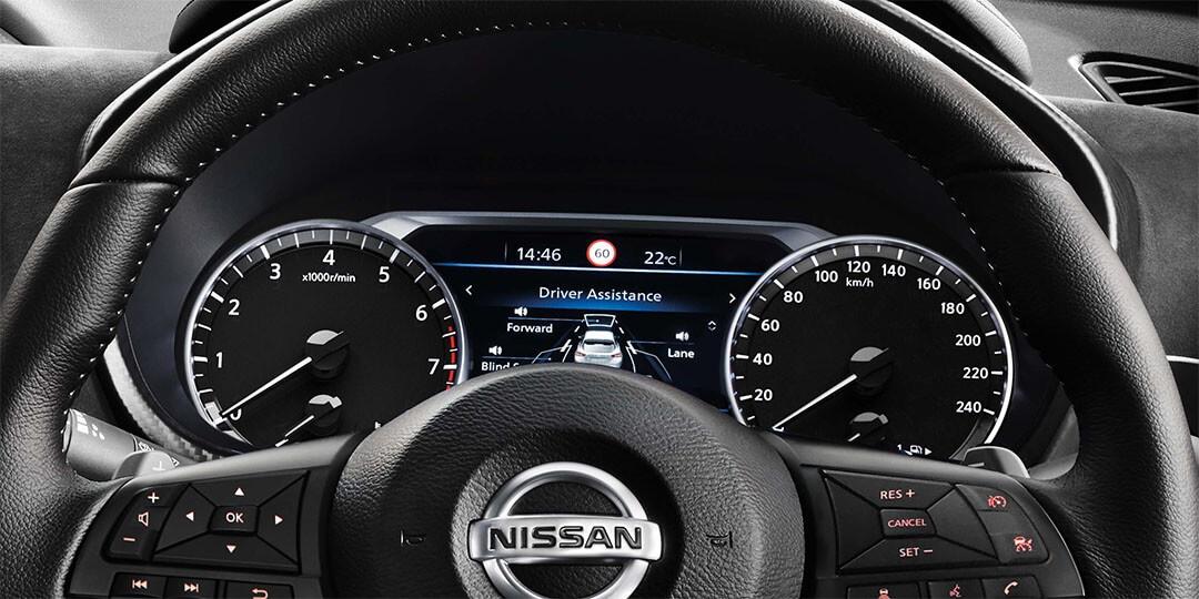 Advanced Drive-Assist™ Display