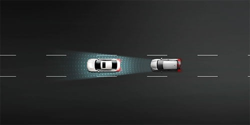 Intelligent Emergency Braking with Pedestrian and Cyclist Detection