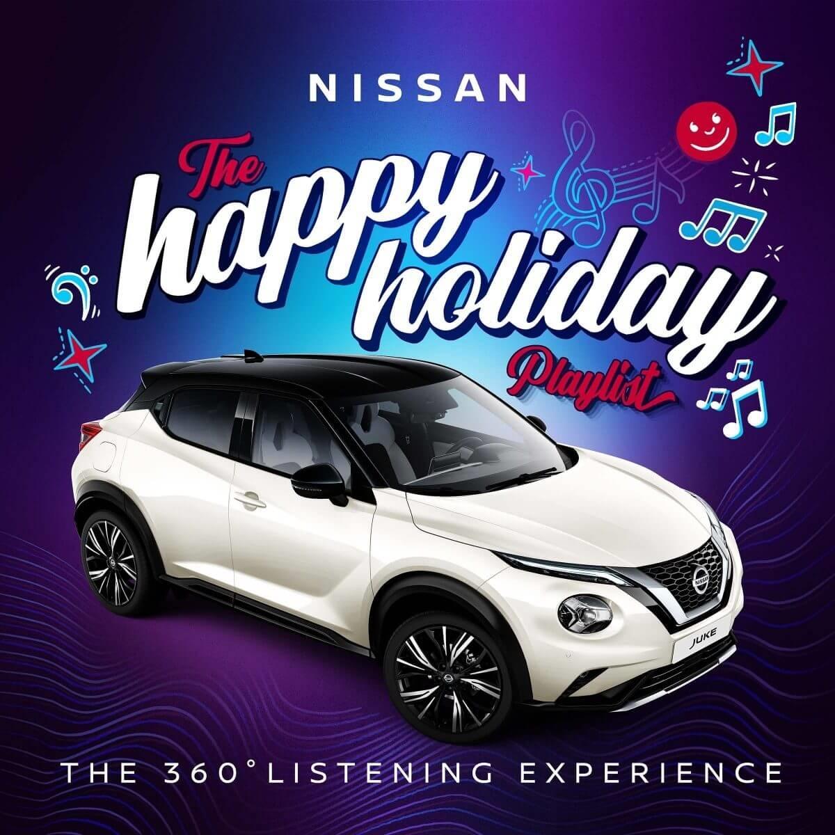 Nissan Juke - Happy Holiday Playlist
