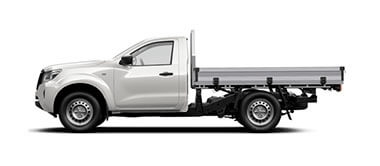 Navara DX Single Cab Chassis 4WD Man
