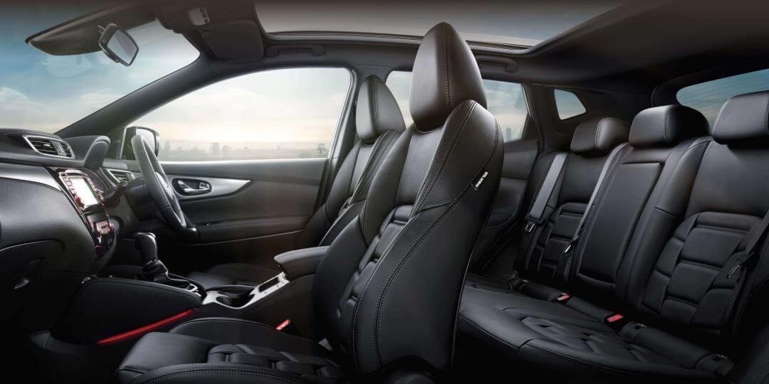 Nissan QASHQAI Interior Design