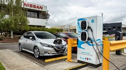 Nissan Solar Charging Reserach Project