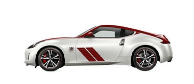 370Z 50th Anniversary Coupe (White/Red) Auto