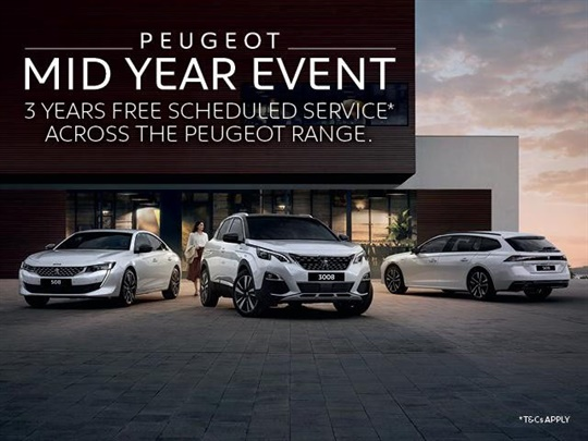 Peugeot Mid-Year Event
