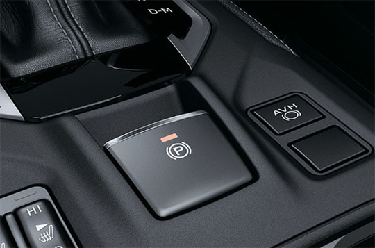 Easy to use parking brake