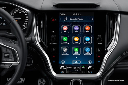 Spectacular infotainment system