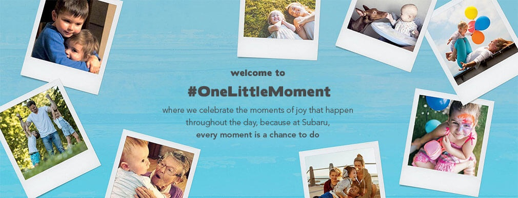 #OneLittleMoment Hero Image