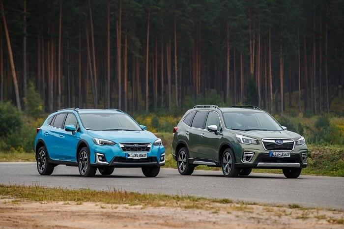 Subaru XV and Forester