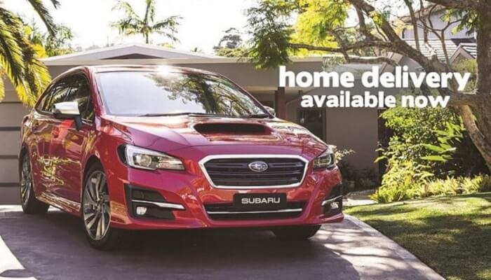 Subaru Home Delivery Now Available