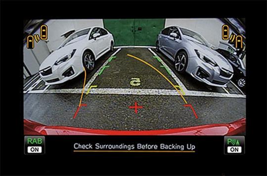 Reverse Automatic Braking