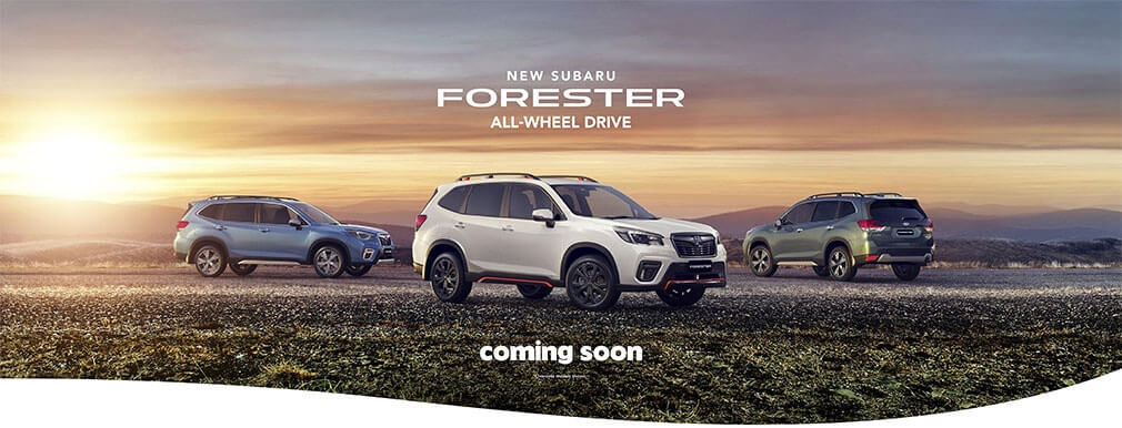 Sporty new model amps up Subaru Forester line-up